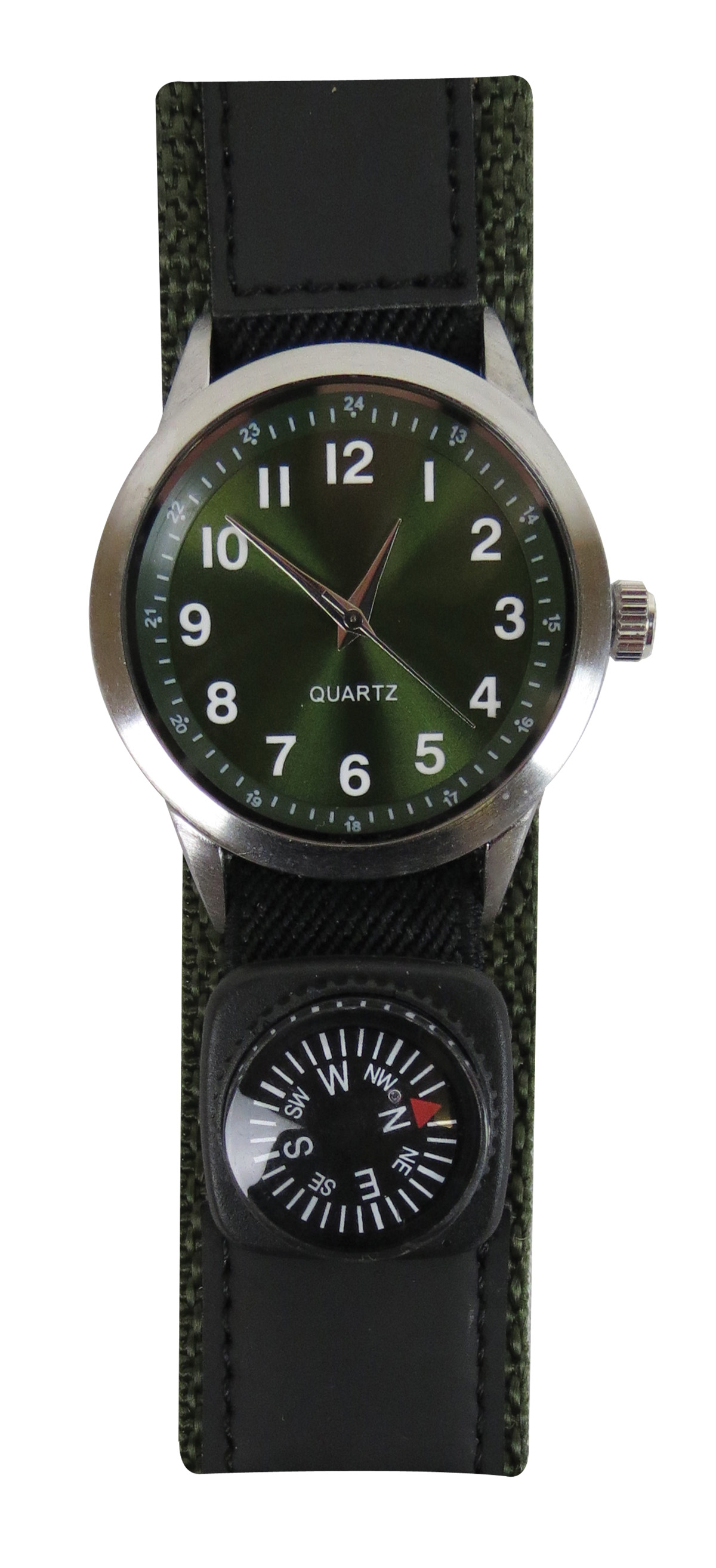 Military Field Watch With Compass