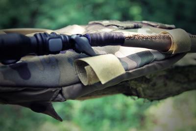Neoprene hose cover and velcro tabs