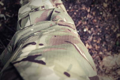 Ripstop fabric compatible with British army MTP
