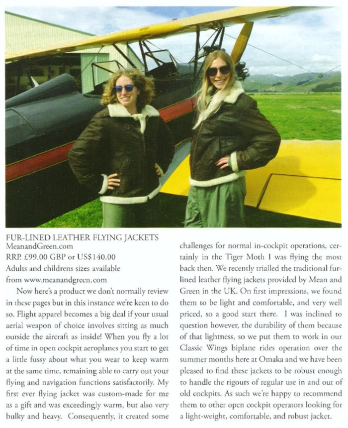 Copyright Classic Wings Magazine