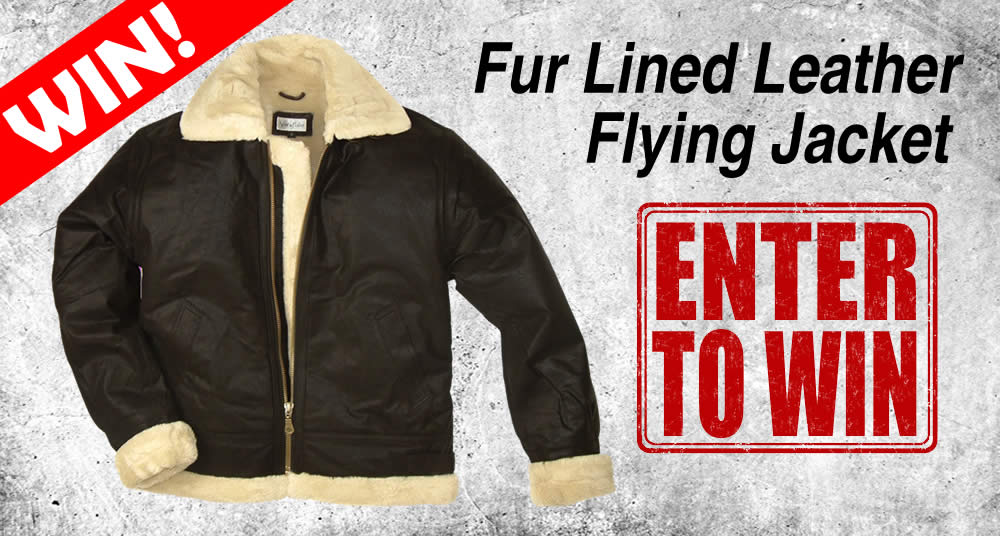 Win a Leather Flying Jacket
