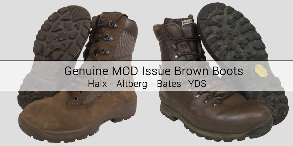 Ex-Army Brown Boots