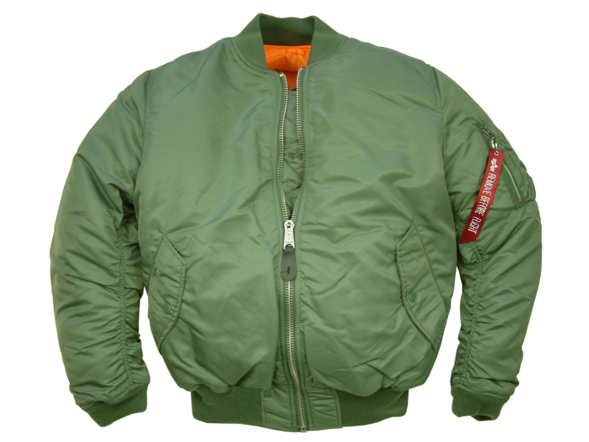 Alpha Industries MA1 Flight Jacket 3b5eb74d449