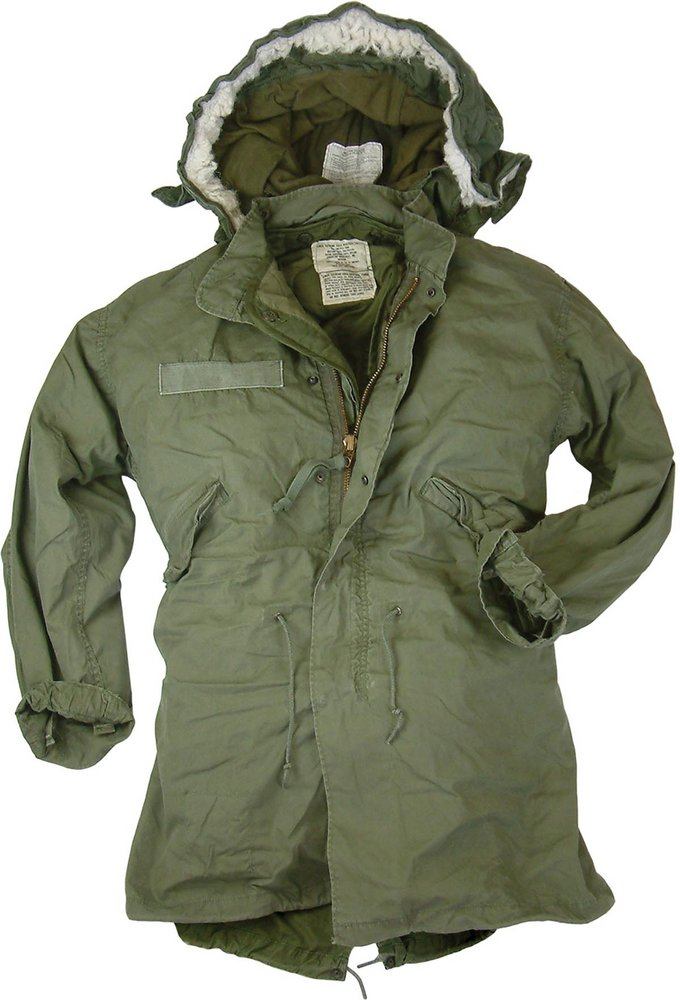 Used US Fishtail Parka With Hood by US Army 92e794c2f40
