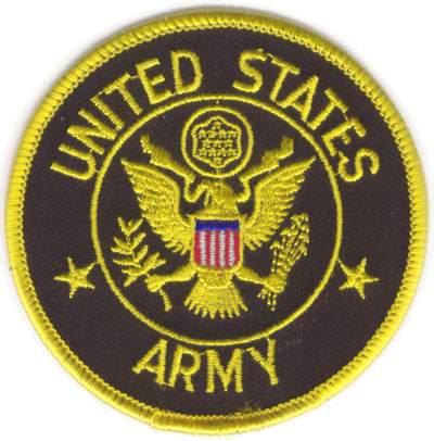 United States Army Cloth Badge