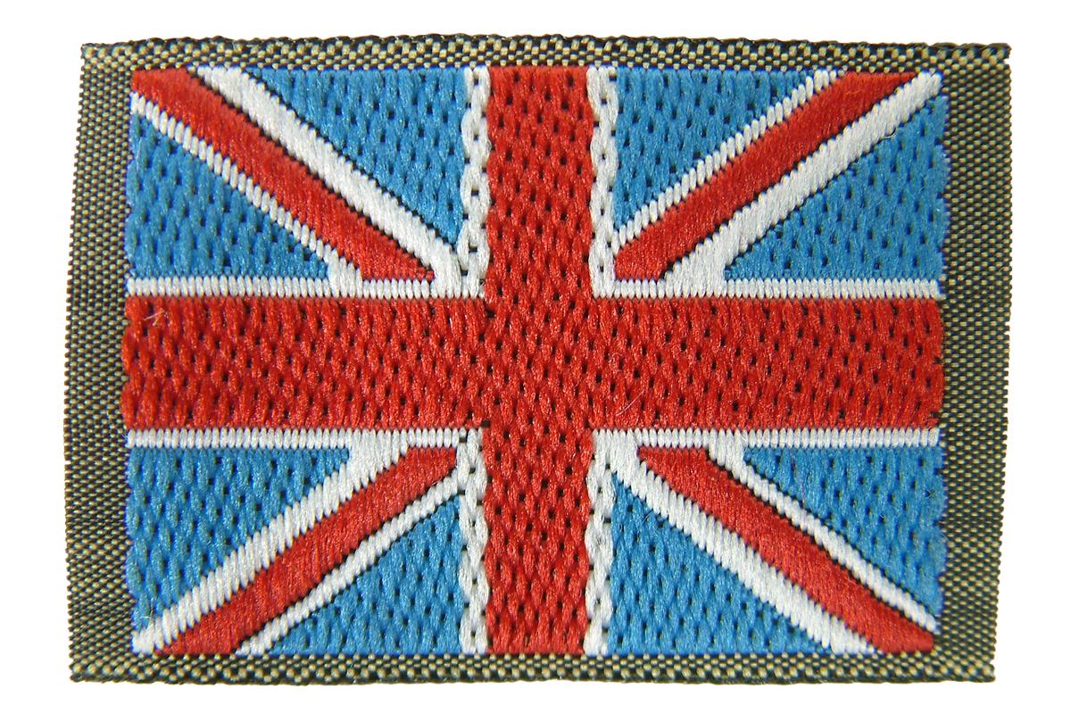 military combat sleeve union jack flag
