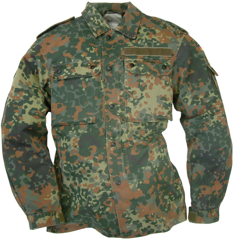 d029b626aa917 German Flecktarn Camo Shirt by German Army