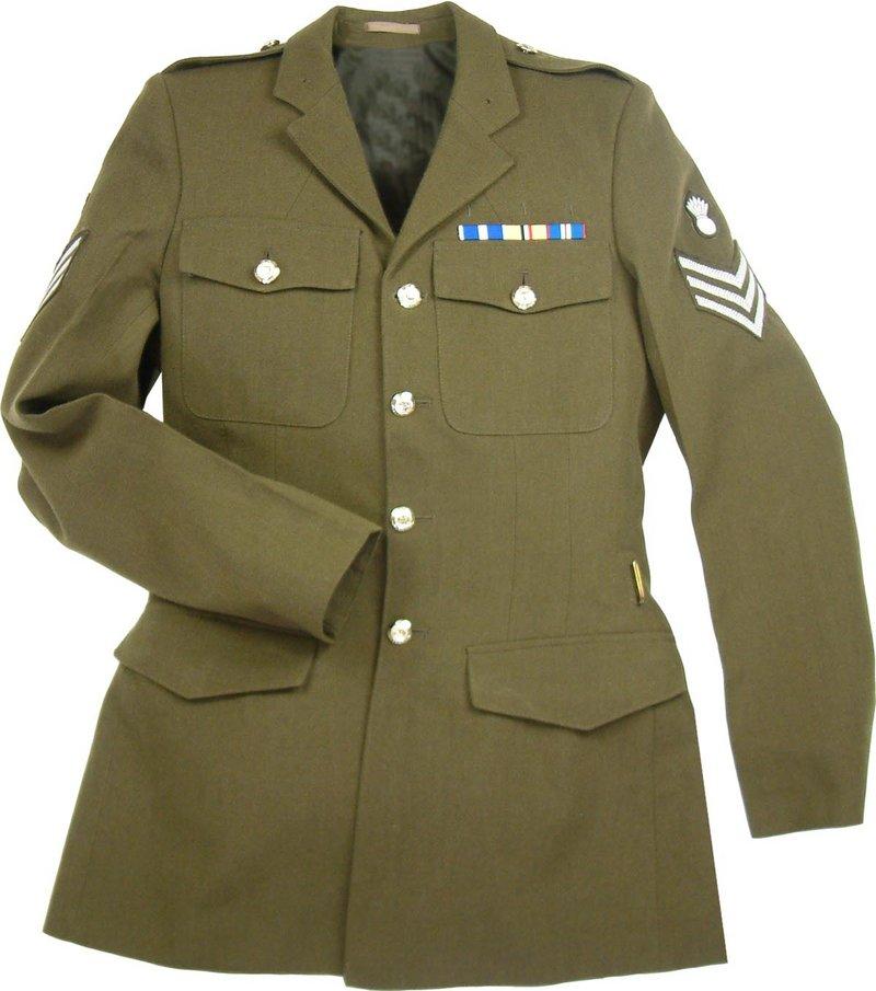 Mens Army Tunic Dress Uniform