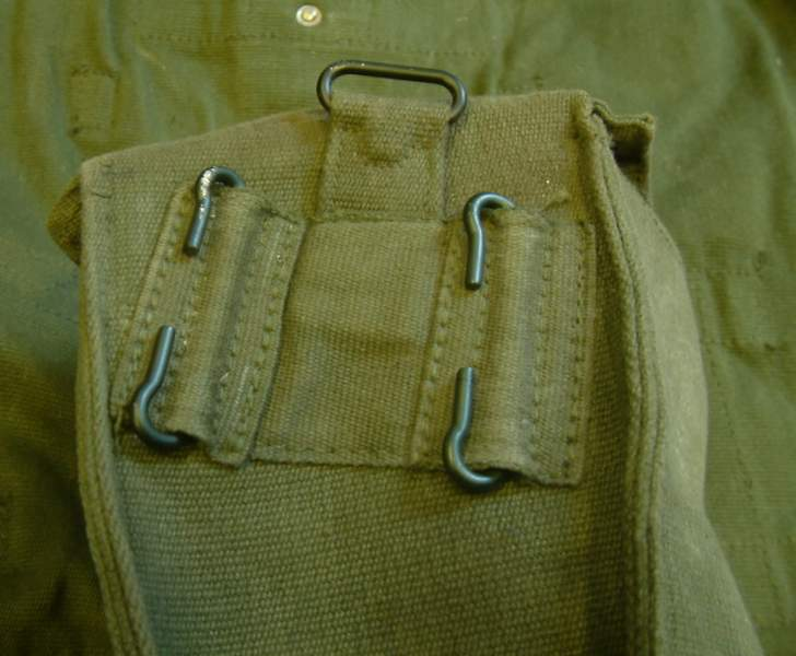 58 pattern webbing set by british army