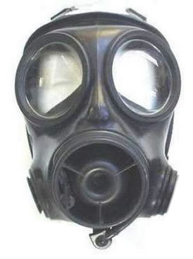 used british s10 gas mask by british army