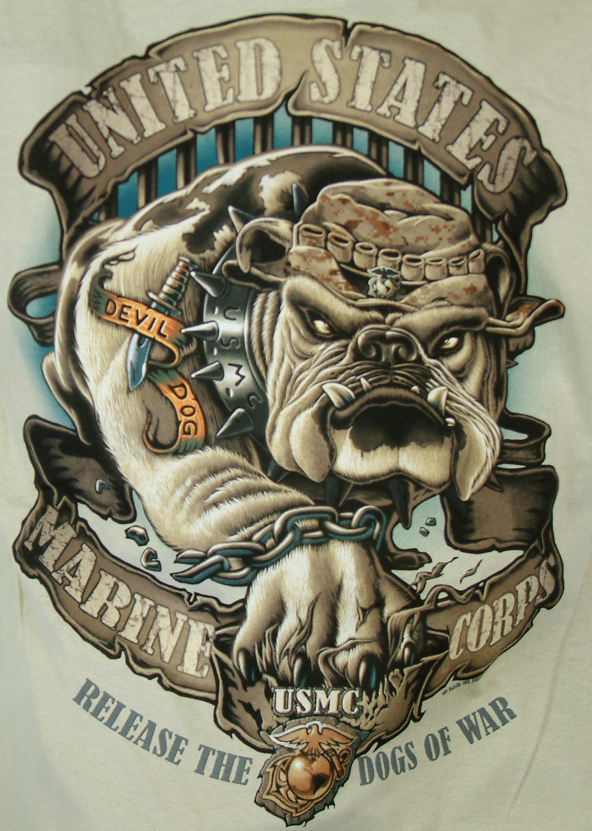 USMC Bulldog Tattoos Marine CorpsUsmc Bulldog Tattoo