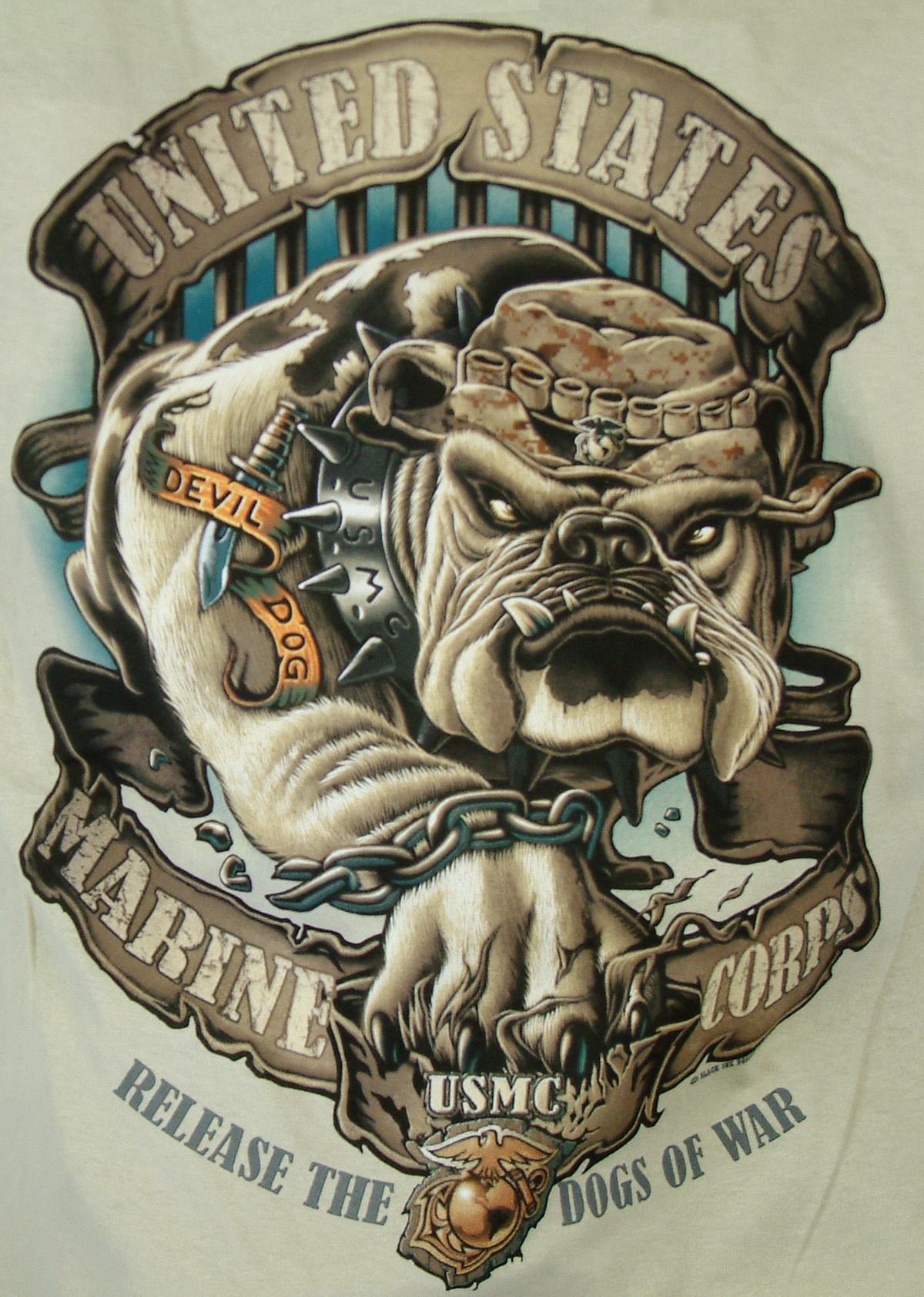 USMC Bulldog Tattoos Marine CorpsUsmc Bulldog Tattoo