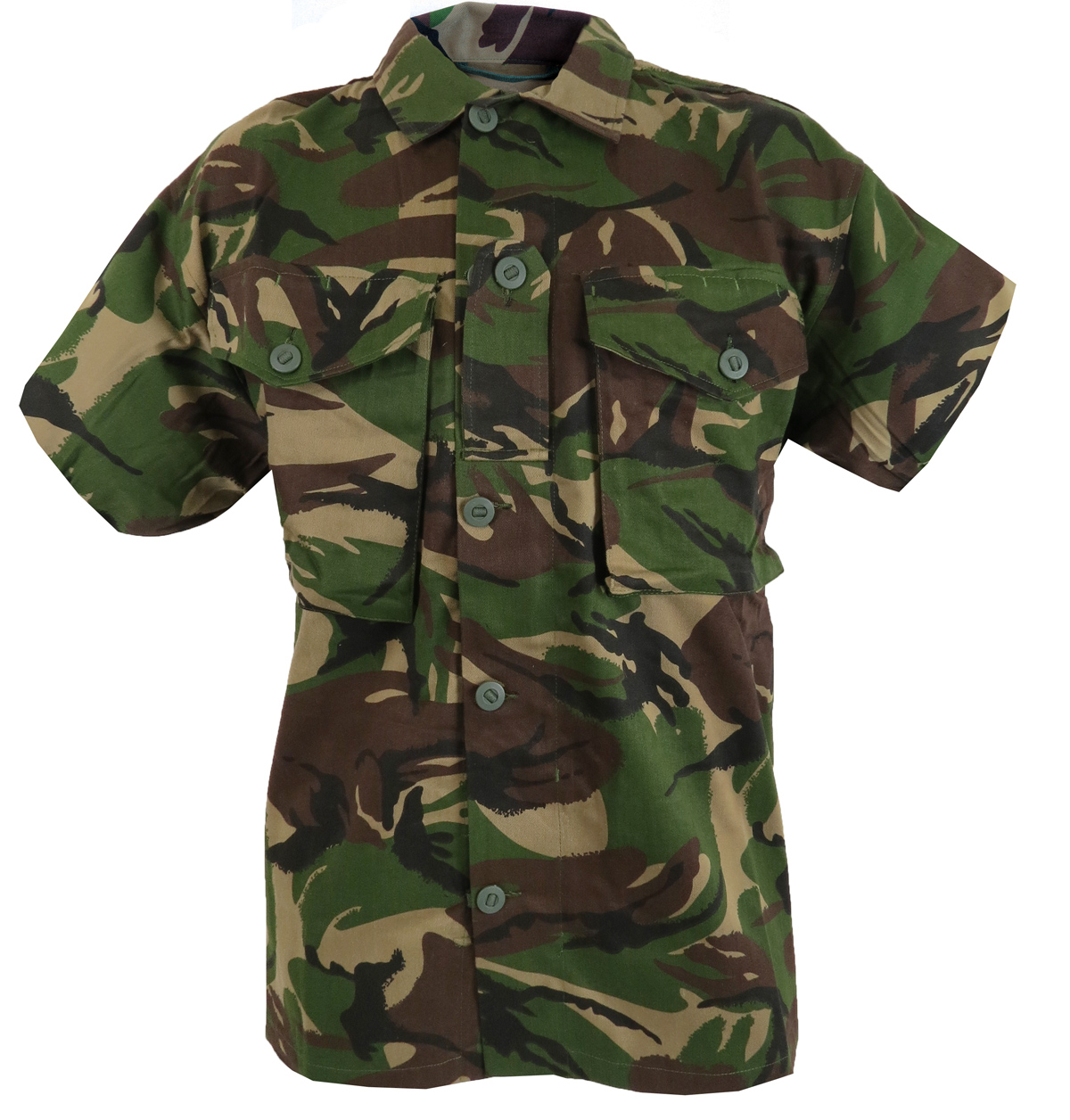 soldier 95 style camo army short sleeve shirt  british dpm