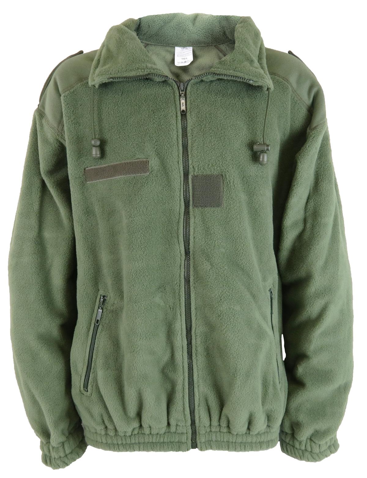 French Army Fleece Jacket