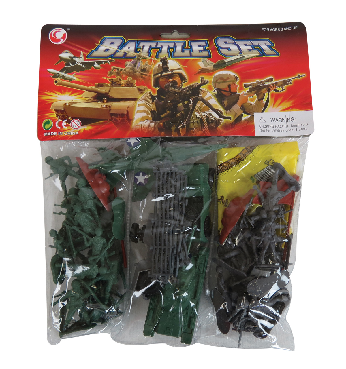 Military Battle Play Set