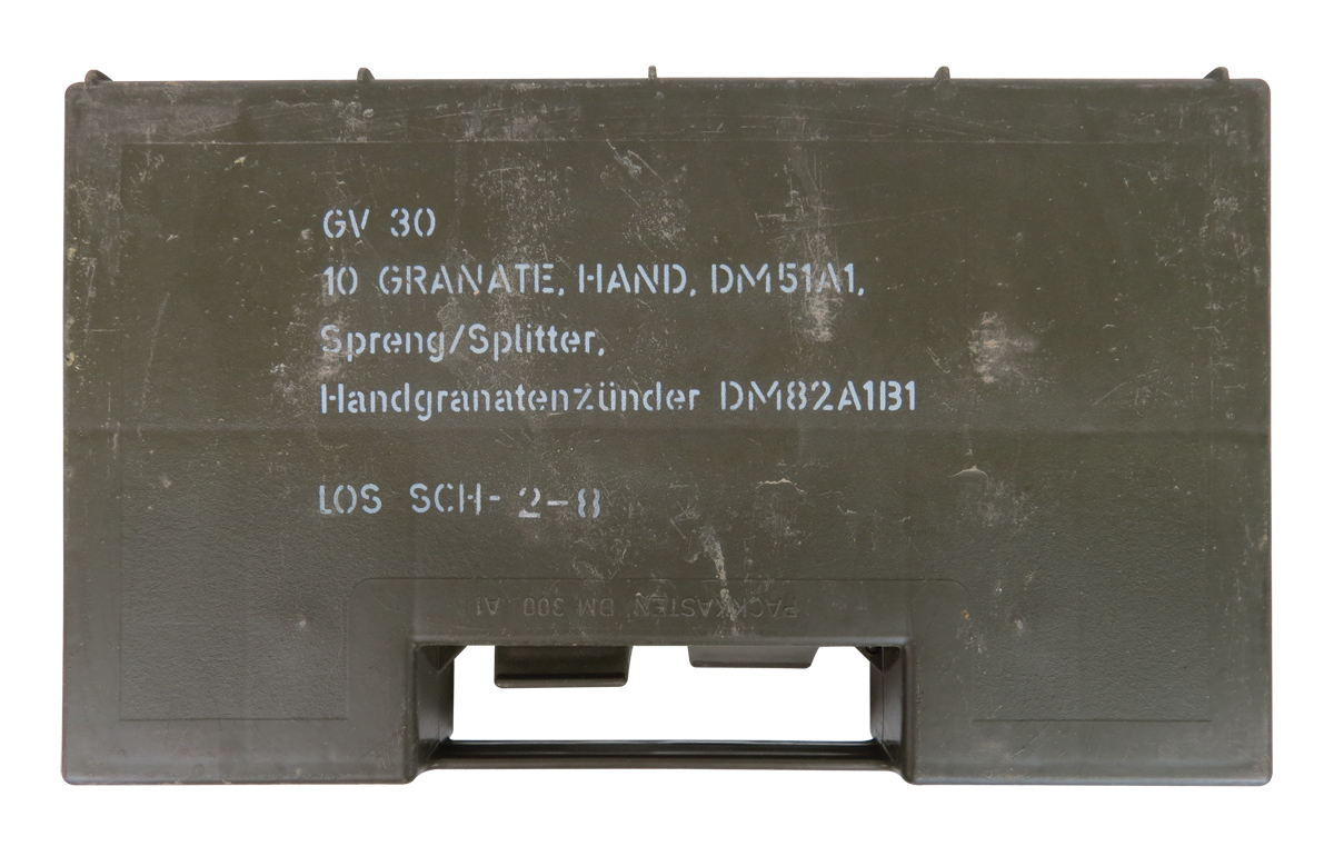 Hand Grenade Box By German Army