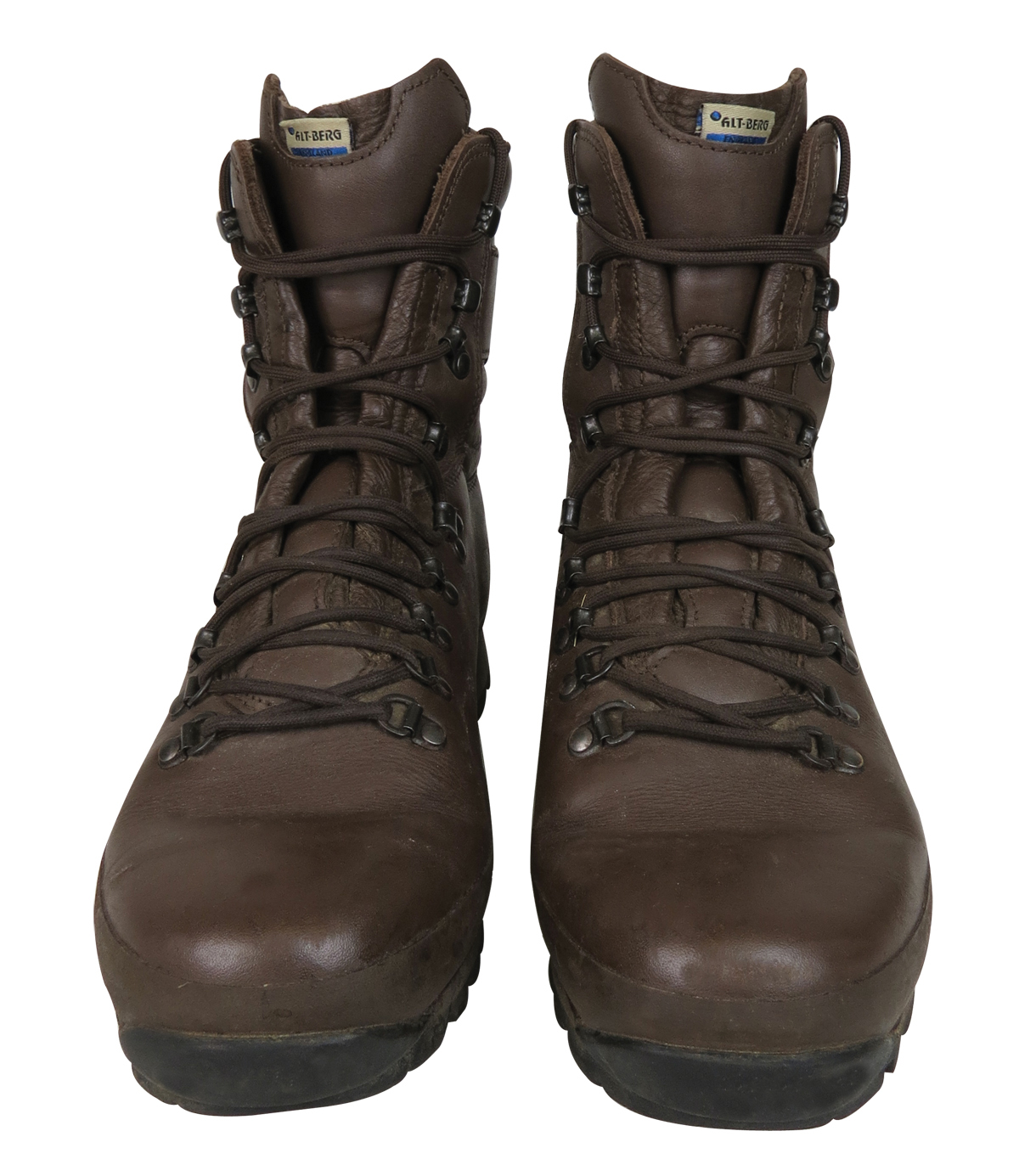 Ex Army Brown Combat Boots Mens Altberg Defender By