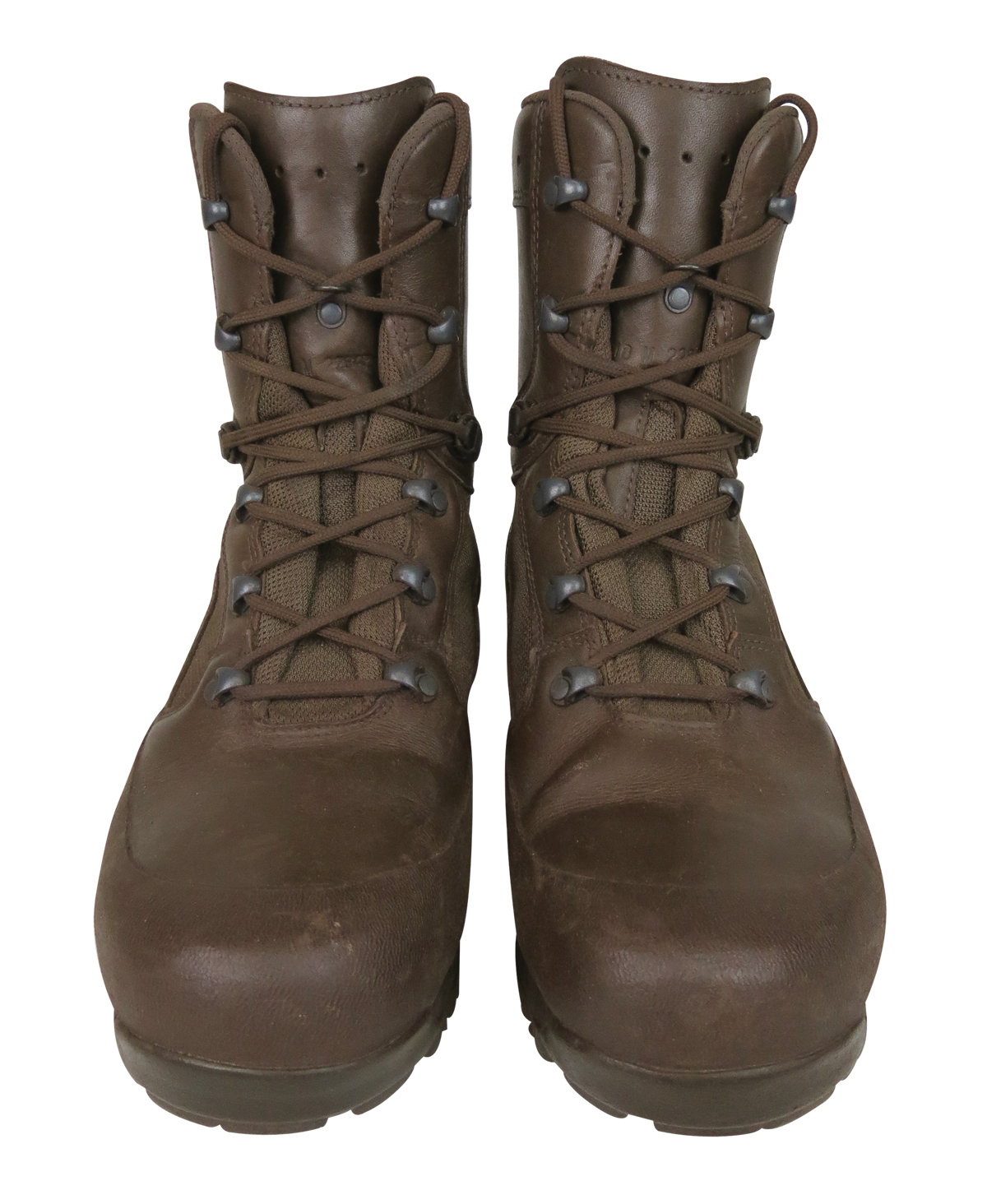 Ex Army Brown Combat Boots Men S Haix Scout