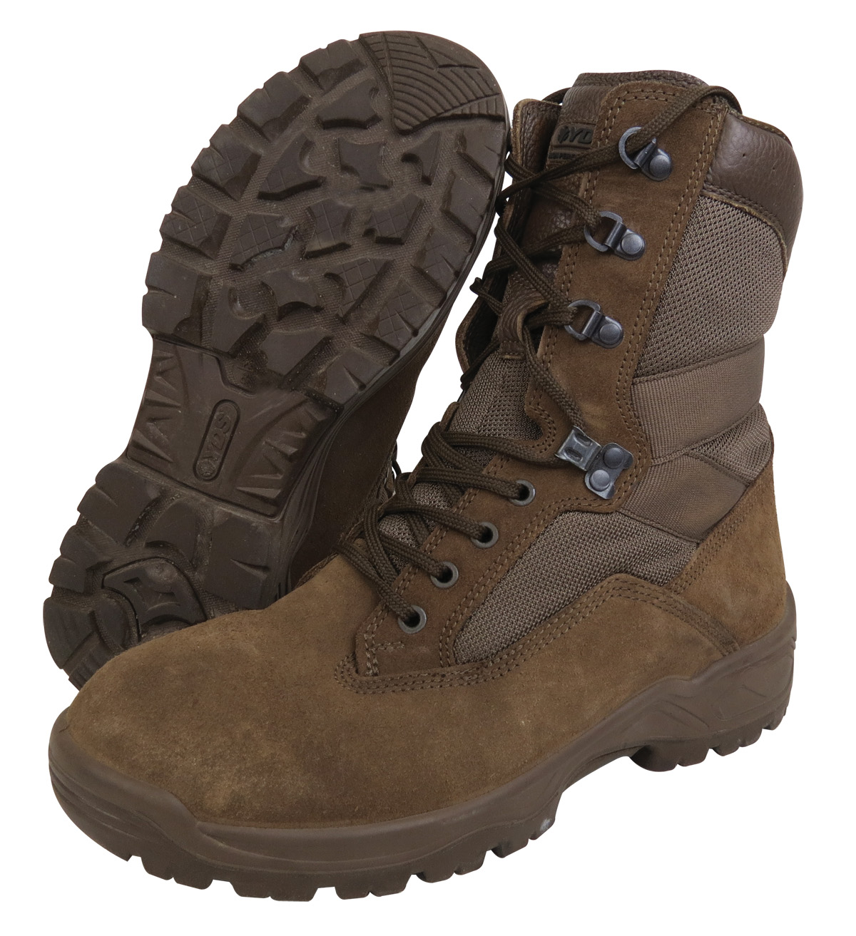 Ex Army Brown Patrol Boots Yds Desert Falcon
