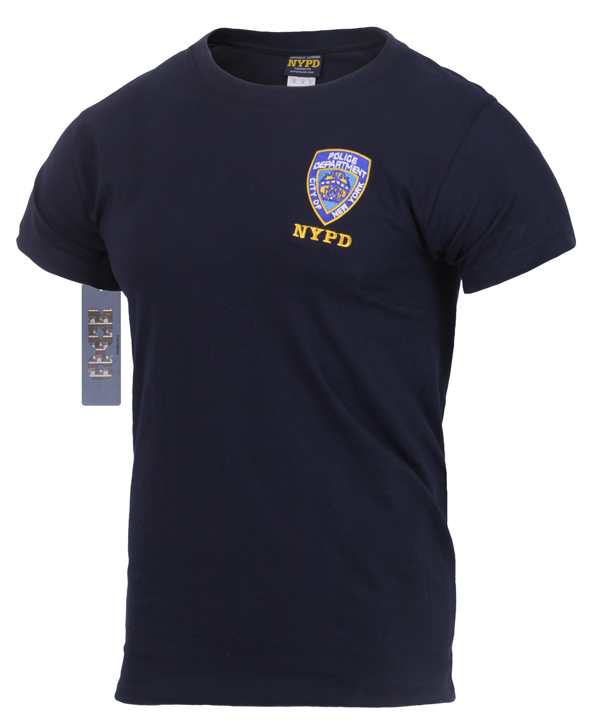 4395e190 Officially Licensed Embroidered NYPD T-Shirt