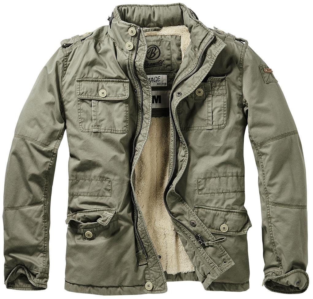 Mens Army Green Jacket