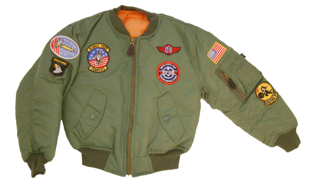 4d5fde873 Kids Badged MA1 Flying Jacket by Mil-com
