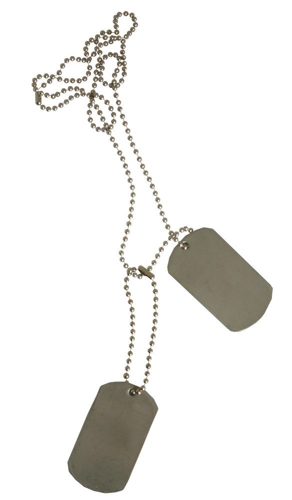 Blank Military Dog Tags For Sale
