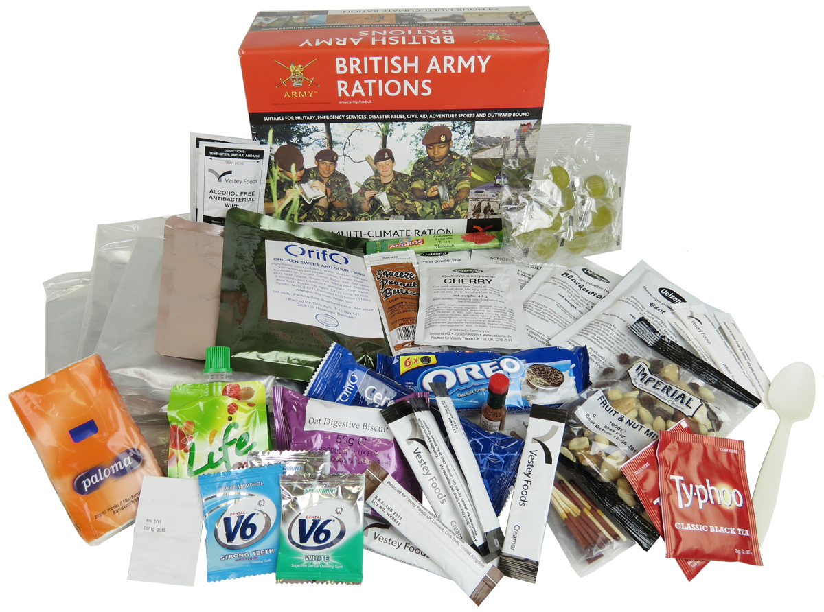 british army 24hr ration pack menu 2. Black Bedroom Furniture Sets. Home Design Ideas
