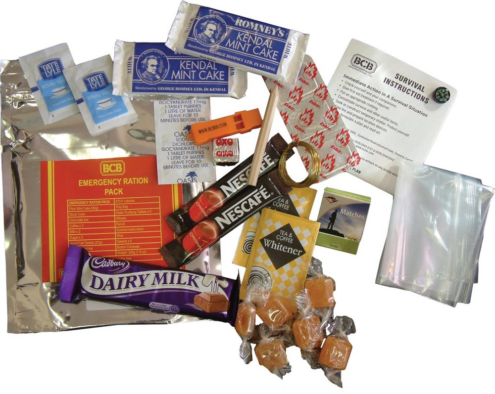 Emergency Ration Pack By Bcb