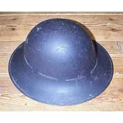 Genuine WW2 Air Raid Warden Helmet