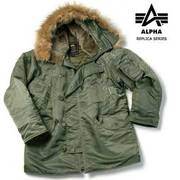 Alpha Industries Authentic N3-B Replica Series