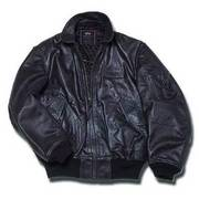 Alpha Industries Leather CWU/45P Flight Jacket