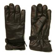 German Army Winter Type Leather Gloves