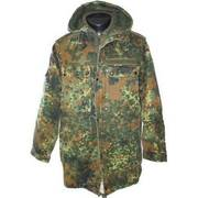 German Camo Parka with Quilted Liner
