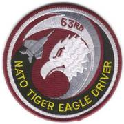 NATO Tiger Eagle Driver Cloth Badge