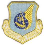 Pacific Air Forces Cloth Badge