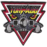 Tornado Cloth Badge