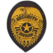 Security Officer Cloth Badge
