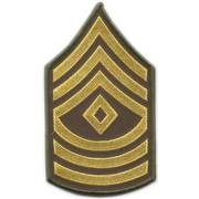 US Staff Sergeant Cloth Badge