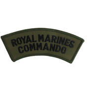 Royal Marines Subdued Shoulder Flash