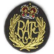 RAF Cloth Cap Badge