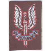 Special Air Service (SAS) Cloth Beret Badge