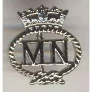 Merchant Navy Pin Badge