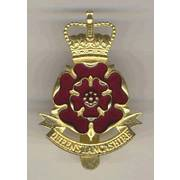 Queen's Lancashire Regiment Cap Badge