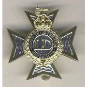 Light Dragoons Cap Badge
