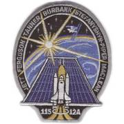 NASA Atlantis XXVII Flight (2002) Cloth Badge
