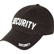 Security Baseball Cap