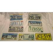 US/Canada Vehicle License Plate