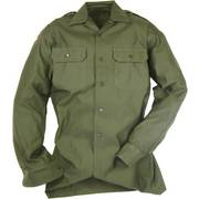 New German Olive Green Shirt