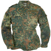 German Flecktarn Camo Shirt